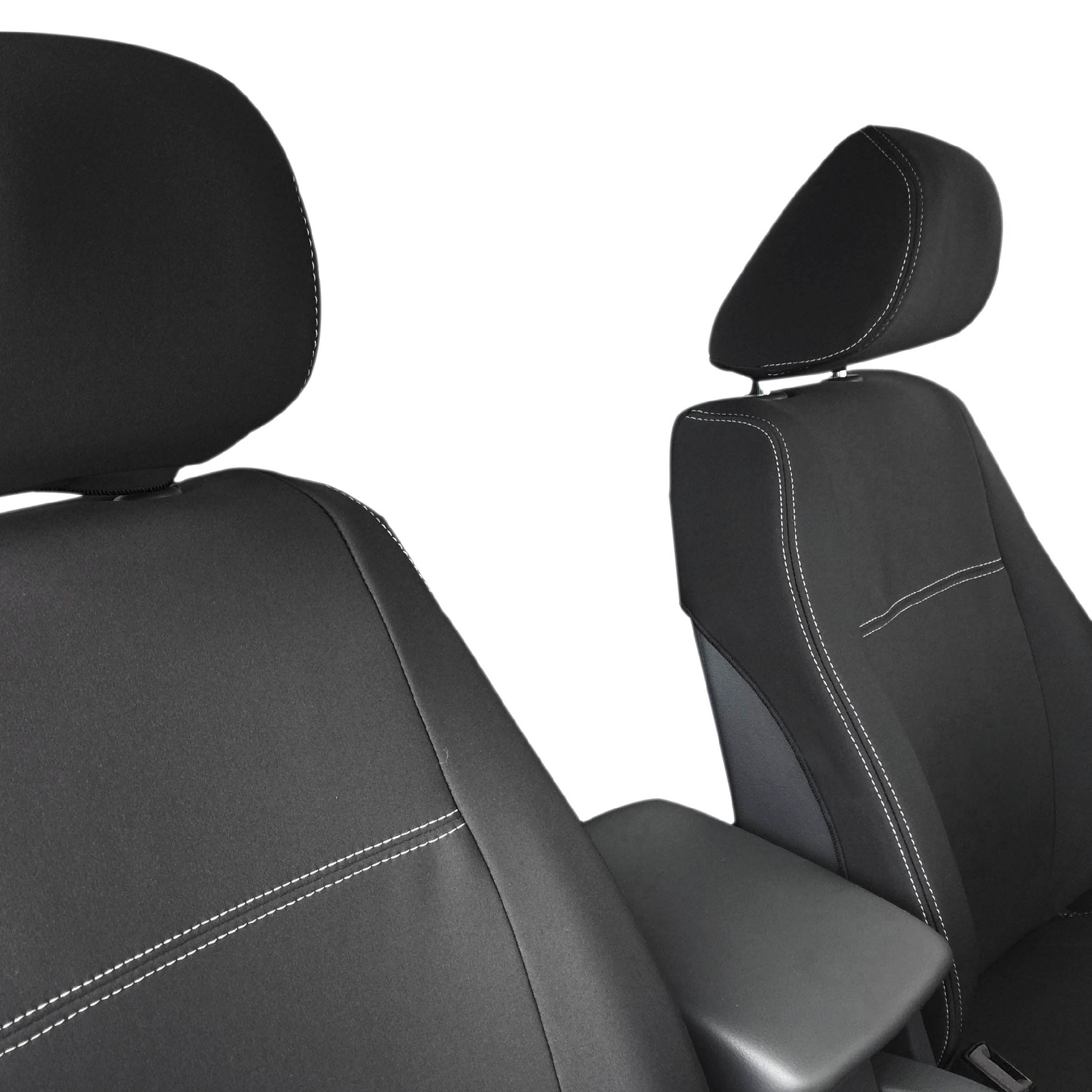 Ford Escort Car Rear Seat Protectors Covers Heavy Duty Waterproof Cover Black