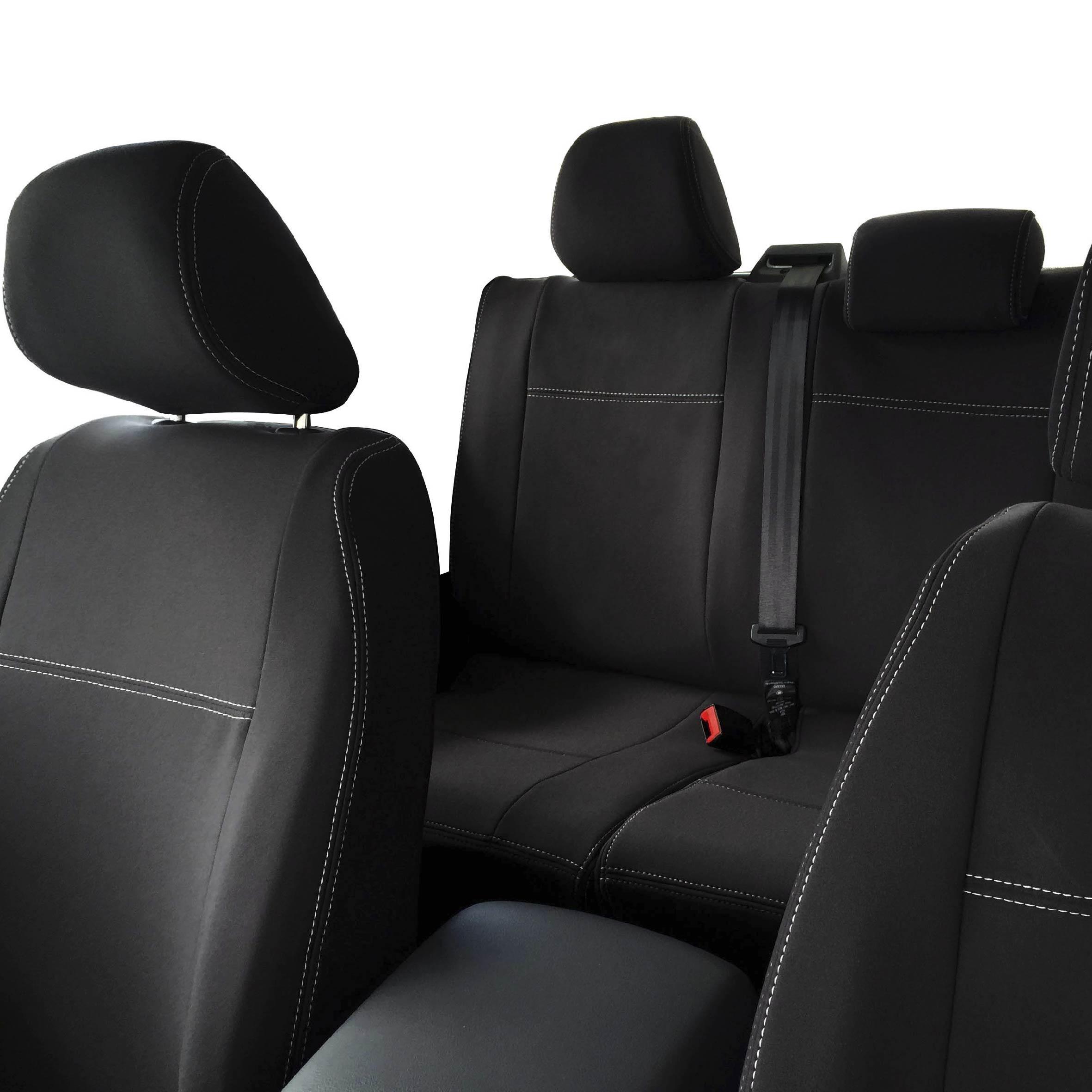VW Volkswagen Amarok 2011 Grey Waterproof /& Tailored Rear Bench Seat Cover