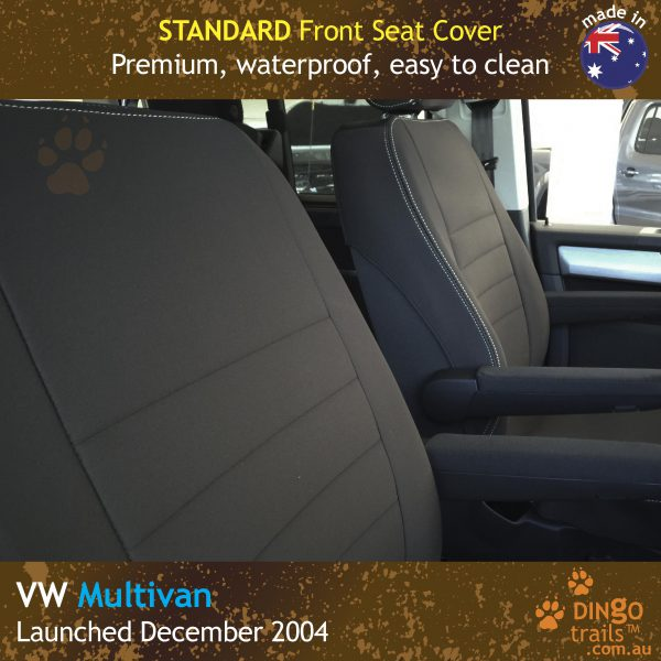 Neoprene FRONT Seat Covers for Volkswagen Multivan T5, T6
