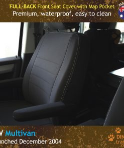 Custom Fit, Waterproof, Neoprene Volkswagen Multivan T5, T6 FULL-BACK Front Seat Covers