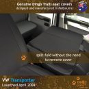 dingotrails.com.au Volkswagen Transporter T5 T6 Neoprene Seat Covers (VTP04BE)d2-01