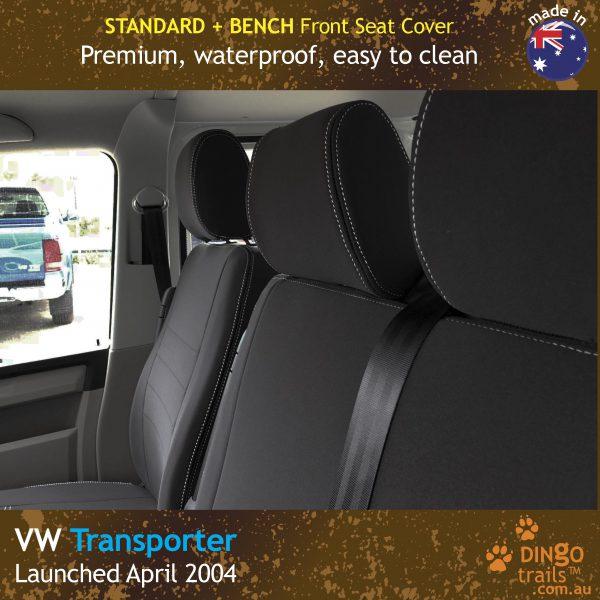 dingotrails.com.au Volkswagen Transporter T5 T6 Neoprene Seat Covers (VTP04BE)f1-01