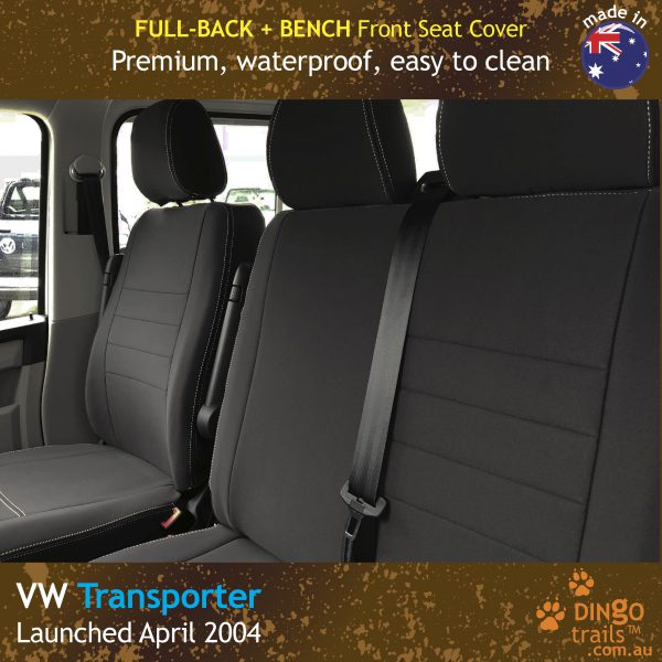 dingotrails.com.au Volkswagen Transporter T5 T6 Neoprene Seat Covers (VTP04BE)h2-01