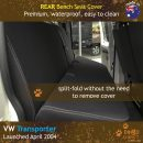 dingotrails.com.au Volkswagen Transporter T5 T6 Neoprene Seat Covers (VTP04)L2-01