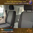 dingotrails.com.au Volkswagen Transporter T5 T6 Neoprene Seat Covers (VTP04)e-01