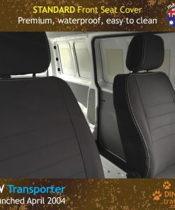 Custom Fit, Waterproof, Neoprene Volkswagen Transporter T5, T6 FRONT Seat Covers