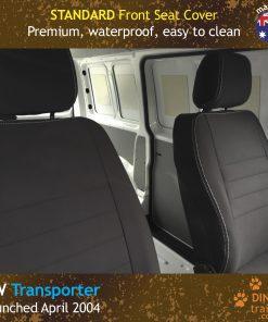 Custom Fit, Waterproof, Neoprene Volkswagen Transporter T5, T6 FRONT Seat Covers
