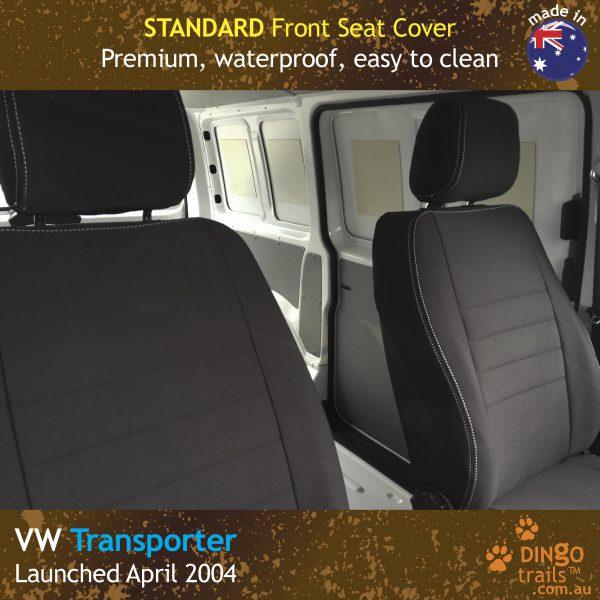 Neoprene FRONT Seat Covers for Volkswagen Transporter T5, T6