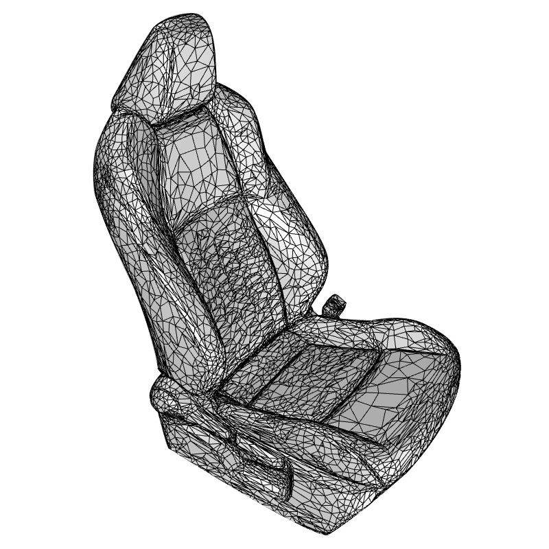 car seat covers - 3D Mesh