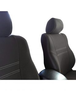 Custom Fit, Waterproof, Neoprene Toyota Hilux MK.7 - Sports FRONT Seat Covers.