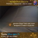 Toyota Hilux Neoprene Seat Covers (TH09)d-01