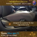 Toyota Hilux Neoprene Seat Covers (TH09)e-01