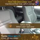 Toyota Hilux Neoprene Seat Covers (TH09)f-01