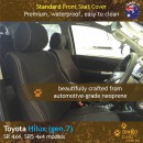 Toyota Hilux Neoprene Seat Covers (TH09)g-01