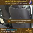 Toyota Hilux Neoprene Seat Covers (TH09)l-01