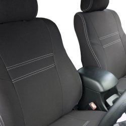Custom Fit, Waterproof, Neoprene Toyota Hilux MK.7 - Sports FULL-BACK Front Seat Covers.
