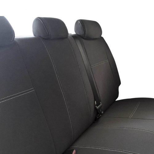 Custom Fit, Waterproof, Neoprene Toyota Hilux MK.7 - Sports, WorkMate, SR, SR5 REAR Seat Cover.